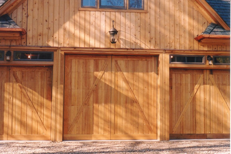 barn style garage door 2