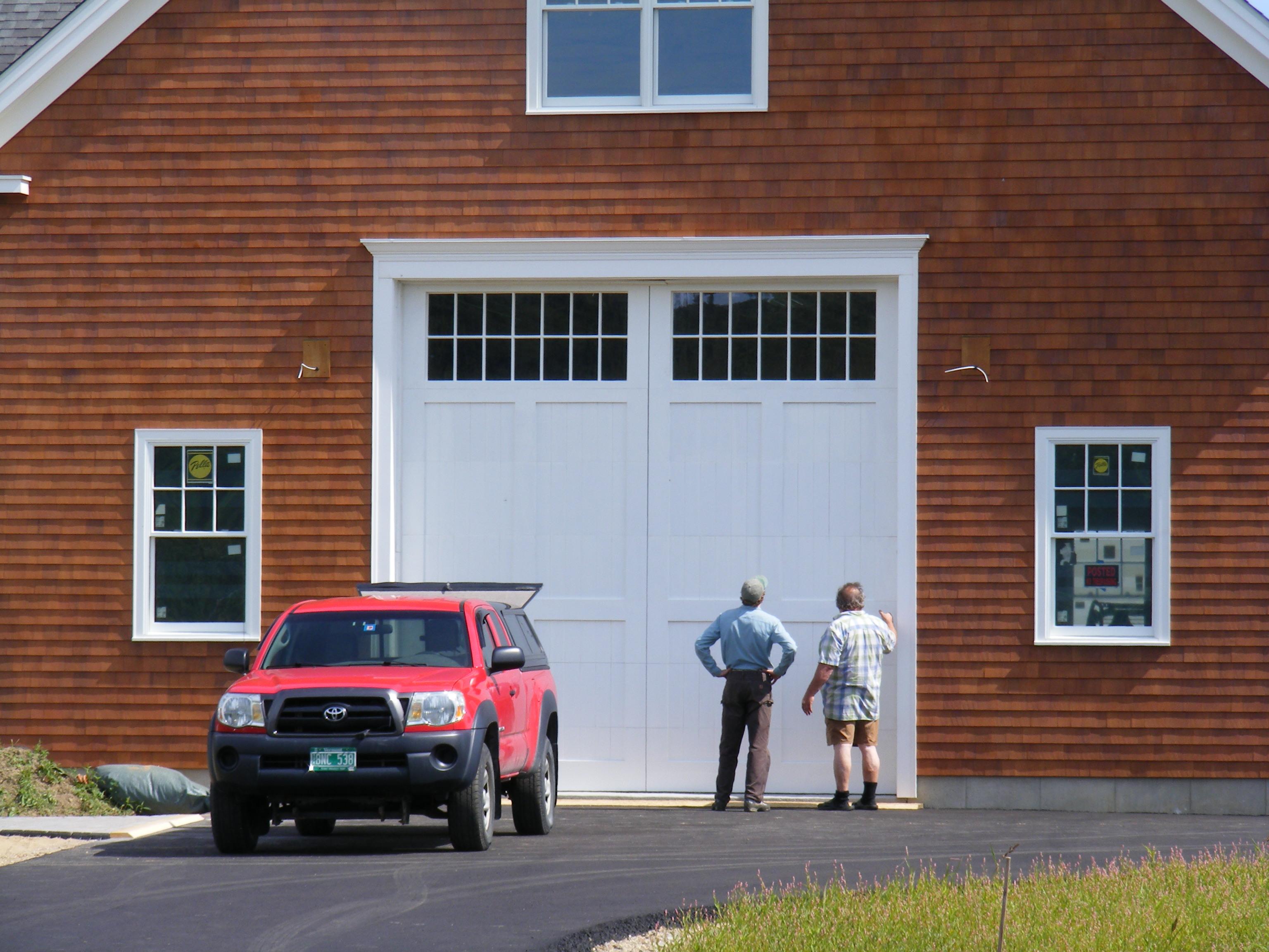 Owner Designed Custom Garage Door Custom Window Section