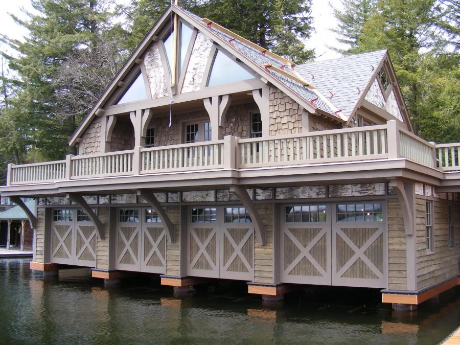 1636 & Boat House Overhead Doors Hanging Doors