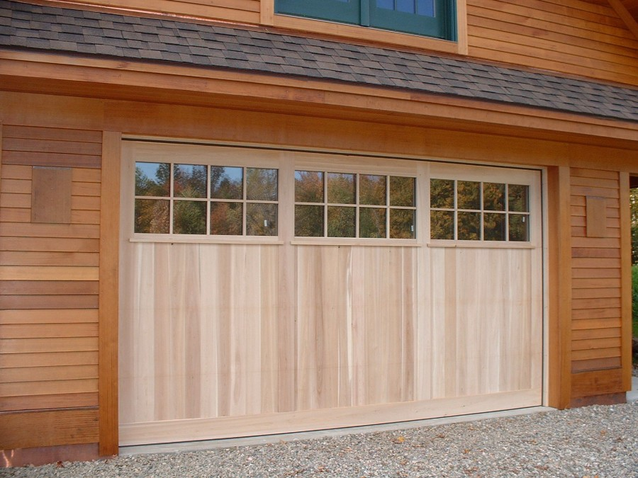 Oversized garage doors large doors false center post for Oversized garage doors