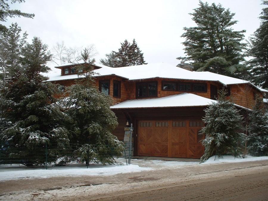 Award Winning Oversized Garage Door High Insulation High