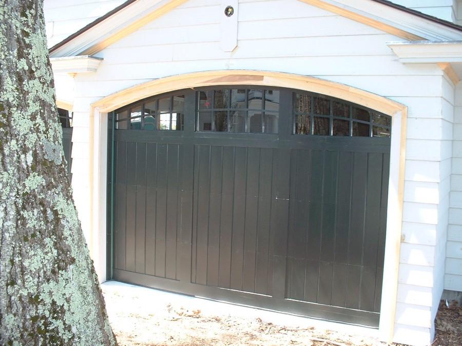 Oversized Garage Door