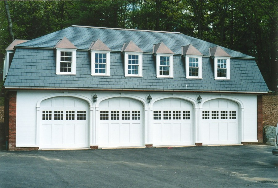 Carriage House Garage Doors True Divided Lights Arched